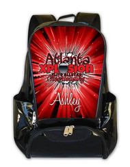 Atlanta Xplosion Elite Personalized Backpack
