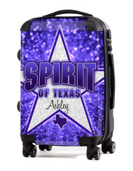 "Spirit of Texas 20"" Carry-On Luggage"