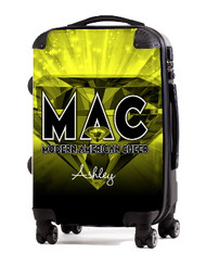 Modern American Cheer Personalized Luggage