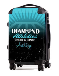 """Diamond Athletics Cheer and Dance 24"""" Check In Luggage"""