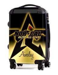 "Norcal Elite Allstars 24"" Check In Luggage"