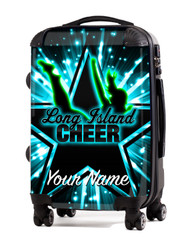 """Long Island Cheer 24"""" Check In Luggage"""