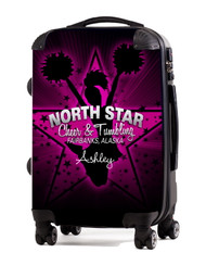 """North Star Cheer and Tumbling 24"""" Check In Luggage"""