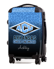 "Arkansas Cheer Unlimited 24"" Check In Luggage"