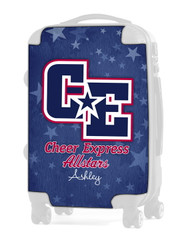 "Cheer Express All Stars - Light Blue 24"" Check In Luggage Insert"