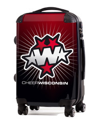 "Wisconsin Cheer 20"" Carry-On Luggage"