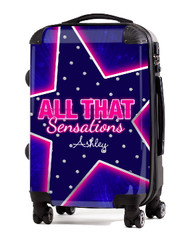 "All That Sensation 24"" Check In Luggage"