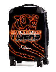 Tigers Cheer and Dance Personalized Luggage