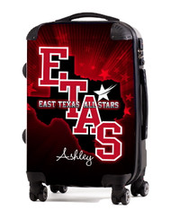 "East Texas All Stars NEW 20"" Carry-On Luggage"