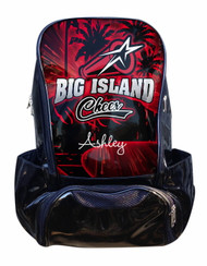 Big Island Cheer Personalized Backpack