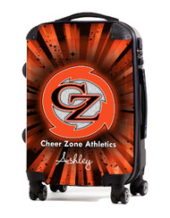 """Cheer Zone Athletics 20"""" Carry-On Luggage"""