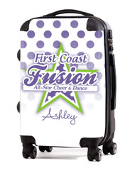 """First Coast Fusion Cheer 20"""" Carry-On Luggage"""