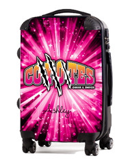 """Coyotes Cheer and Dance 20"""" Carry-On Luggage"""