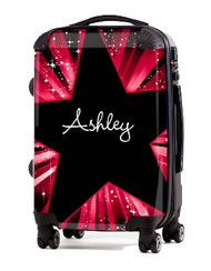 "Red Blast 20"" Carry-on Luggage"