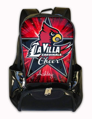 La Villa Cardinals Personalized Backpack