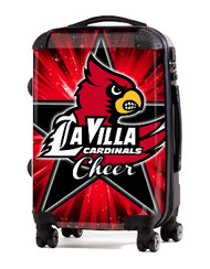 "La Villa Cardinals Cheer 24"" Check In Luggage"
