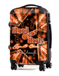 """Head Over Heels Cheer 24"""" Check In Luggage"""