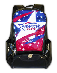 American Elite Cheerleading Personalized Backpack