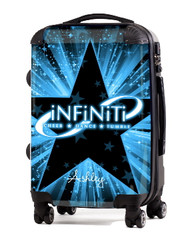 "Infiniti Cheer and Dance 20"" Carry-On Luggage"