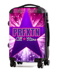 """Perfection Cheer All Stars 20"""" Carry-On Luggage"""