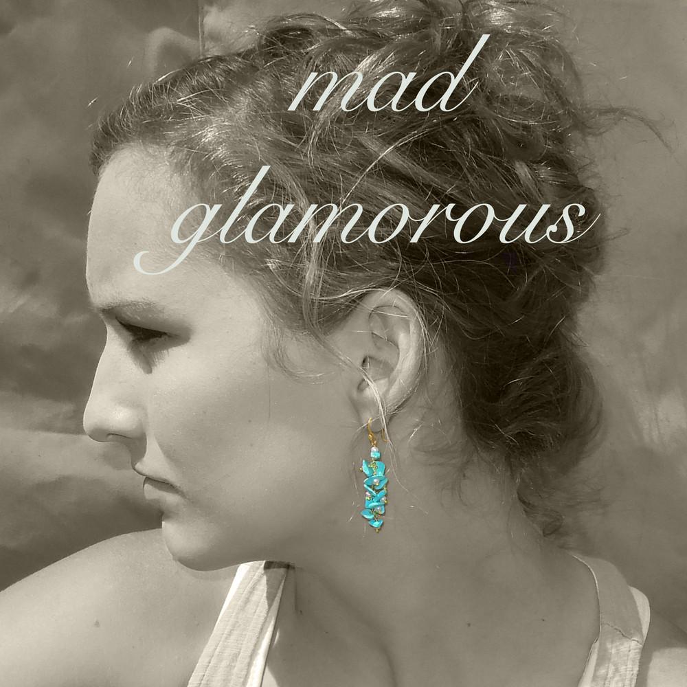 sleeping beauty cascade earrings (two of a kind)