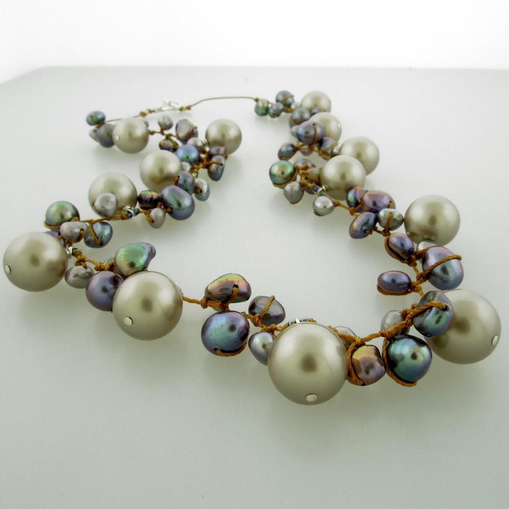 galaxy pearl - grey 10mm
