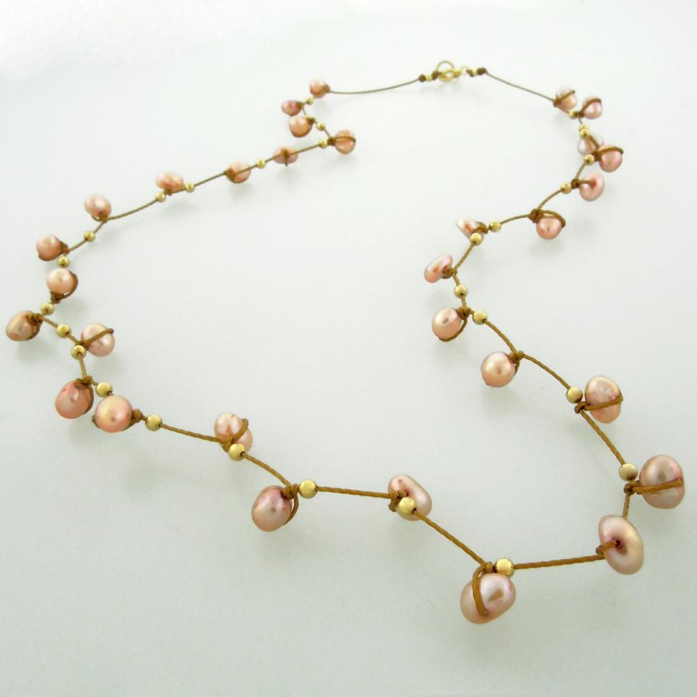 celestial plus - pearl rose 4mm