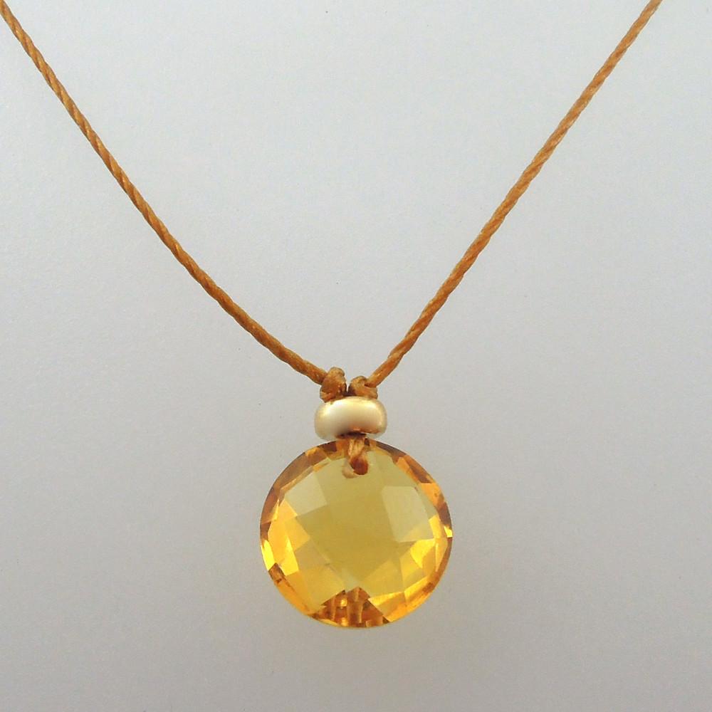 citrine 14kt gold fill option