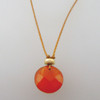 carnelian with 14kt gf accent
