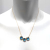 3 way - rustica coin london blue quartz
