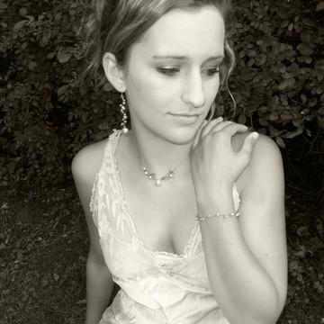 latham pearl grey earrings