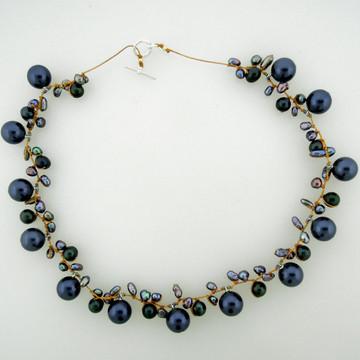 galaxy pearl - blue 10mm