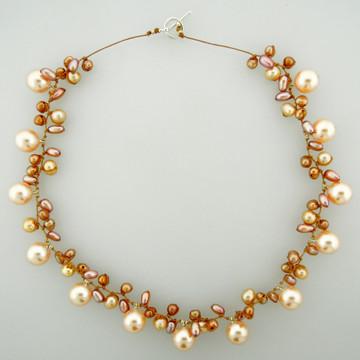galaxy pearl - champagne 10mm