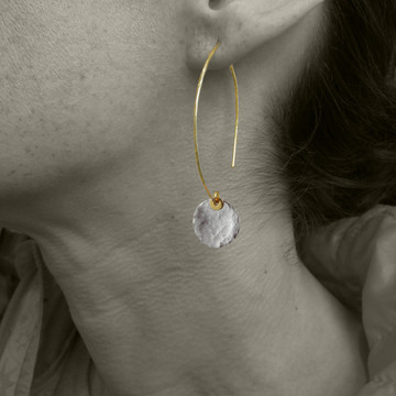 ARC disquette 2 SS -  earrings