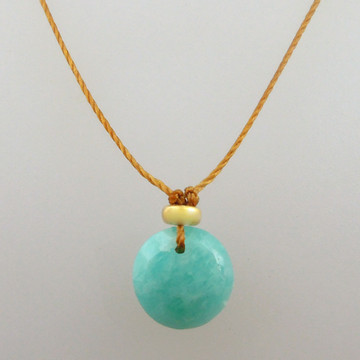 solo cutie pie - amazonite 8mm