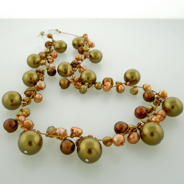 galaxy pearl - bronze 10mm