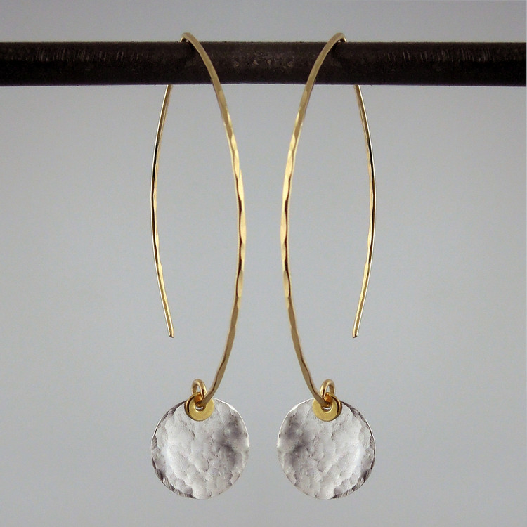 ARC disquette 2 SS -  earrings