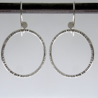 BL circle 3 mama chisel - earrings
