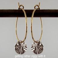 dab - ziggy earring hoops