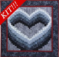 Open Heart - Wall Quilt Kit