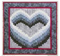 Open Heart - Wall Quilt Pattern