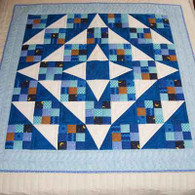 Night Star Quilt - Wall Hanging
