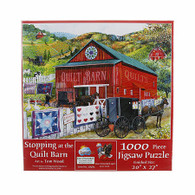 Stopping at the Quilt Barn 1000 Piece Puzzle