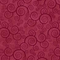 Harmony - Scroll Dark Red