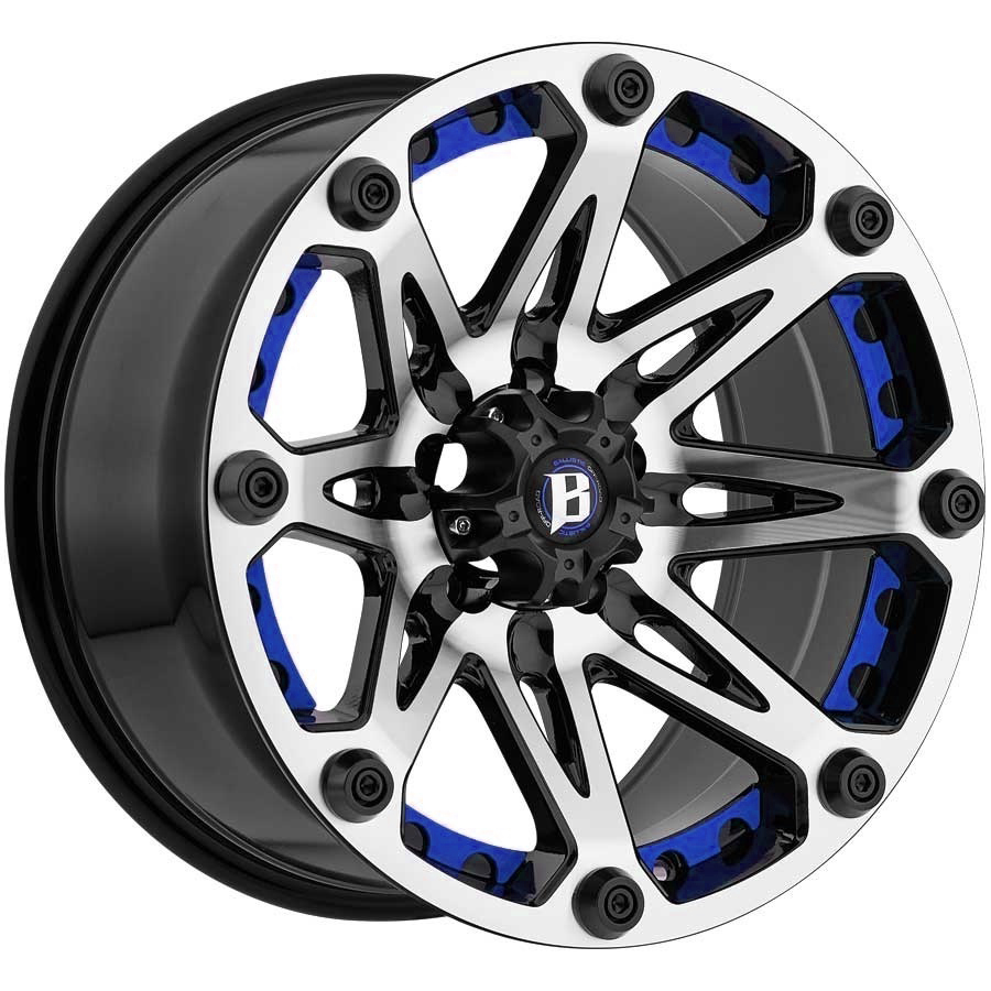 Truck Wheels Rims : Blue truck wheels rims custom suv