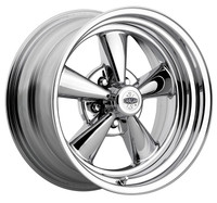 Cragar S/S Super Sport Wheels Rims 15x8 Chrome 2 Piece - Acorn Seat 5x4.75 (5x120.65) -6mm | 61C-583442 | Free Shipping!
