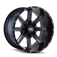Cali Off Road Busted 9100 Wheels Rims 20x9 Black Milled 8x6.5 (8x165.1) 8x170 0mm | 9100-2976M0 | Free Shipping!