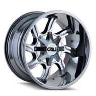 Cali Off Road Twisted 9102 Wheels Rims 20x9 Chrome 8x180 0mm | 9102-2978P2D0 | Free Shipping!