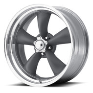 American Racing Classic Torq Thrust II Wheels Rims 15x4 Gray 5x4.75 (5x120.65) -25mm | VN2155461 | Free Shipping!