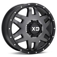 XD Series Machete Dually Wheels Rims 20x7.5 Black 8x170 90mm | XD130275877142 | Free Shipping!